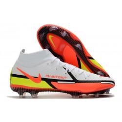 Nike Phantom Generative Texture II Elite DF FG Blanco Carmesí Volt