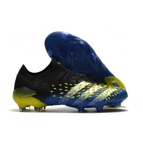 Botas adidas Predator Freak.1 Low FG Azul Negro Blanco Amarillo Solar
