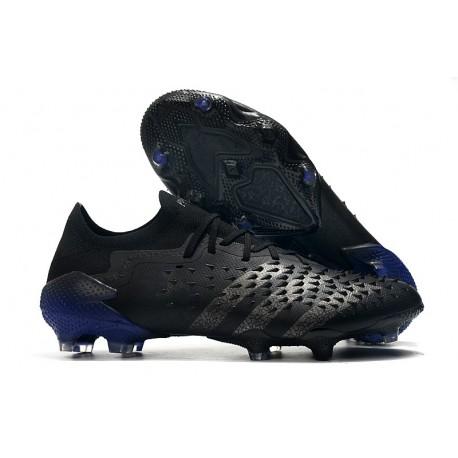 Botas adidas Predator Freak.1 Low FG Negro Hierro Metálico Tinta
