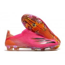 adidas X Ghosted + FG Botas Rosa Negro Naranja