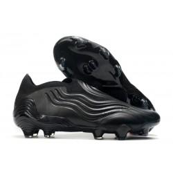 adidas Botas de fútbol Copa Sense+ FG Negro Gris
