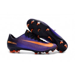 Nike Mercurial Vapor 11 FG ACC Zapatillas de fútbol -Violeta Naranja