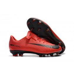 Nike Mercurial Vapor XI FG ACC Zapatillas de Ronaldo - Rojo Negro