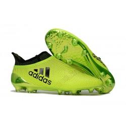 Botas de fútbol adidas X 17+ Purespeed FG Amarillo Negro