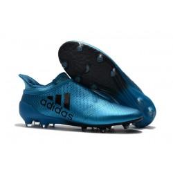 Botas de fútbol adidas X 17+ Purespeed FG Azul