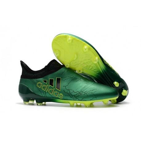 124a63dc90077 Botas de fútbol adidas X 17+ Purespeed FG Verde