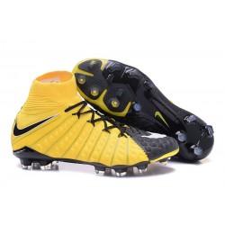 Nike Bota de Futbol Hypervenom Phantom III DF FG - Amarillo Negro