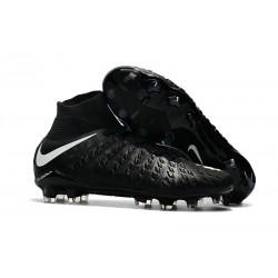 Nike Bota de Futbol Hypervenom Phantom III DF FG - Negro Blanco