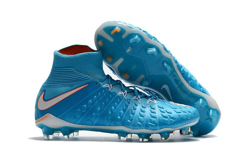 cerveza negra Aprendizaje Tengo una clase de ingles  Nike Bota de Futbol Hypervenom Phantom III DF FG - Azul Blanco
