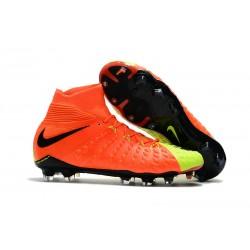 Nike Hypervenom Phantom 3 Dynamic Fit FG ACC Zapatos - Naranja Amarillo