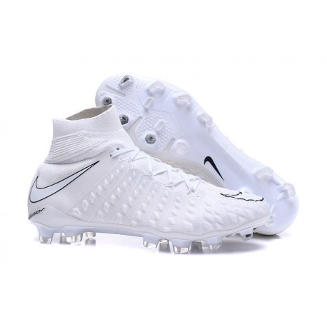 1cfe8538 Nike Zapatillas de Fútbol para Hombre Hypervenom Phantom III FG - Blanco