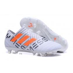 Botas Adidas Nemeziz Messi 17+ 360 Agility FG - Gris Naranja