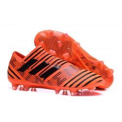 Botas Adidas Nemeziz Messi 17+ 360 Agility FG - Naranja Negro