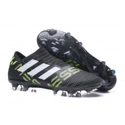 Botas Adidas Nemeziz Messi 17+ 360 Agility FG -Negro Blanco