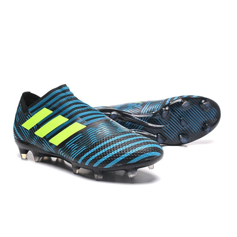 Botas Adidas Nemeziz Messi 17+ 360 Agility FG Azul Negro
