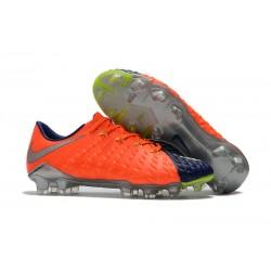 Botas de fútbol Nike Hypervenom Phantom III FG ACC - Naranja Azul Profundo