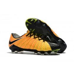 Botas de fútbol Nike Hypervenom Phantom III FG ACC - Amarillo Negro