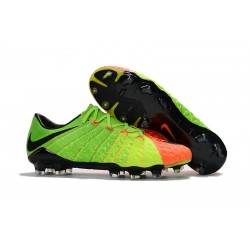 Botas de fútbol Nike Hypervenom Phantom III FG ACC - Verde Naranja