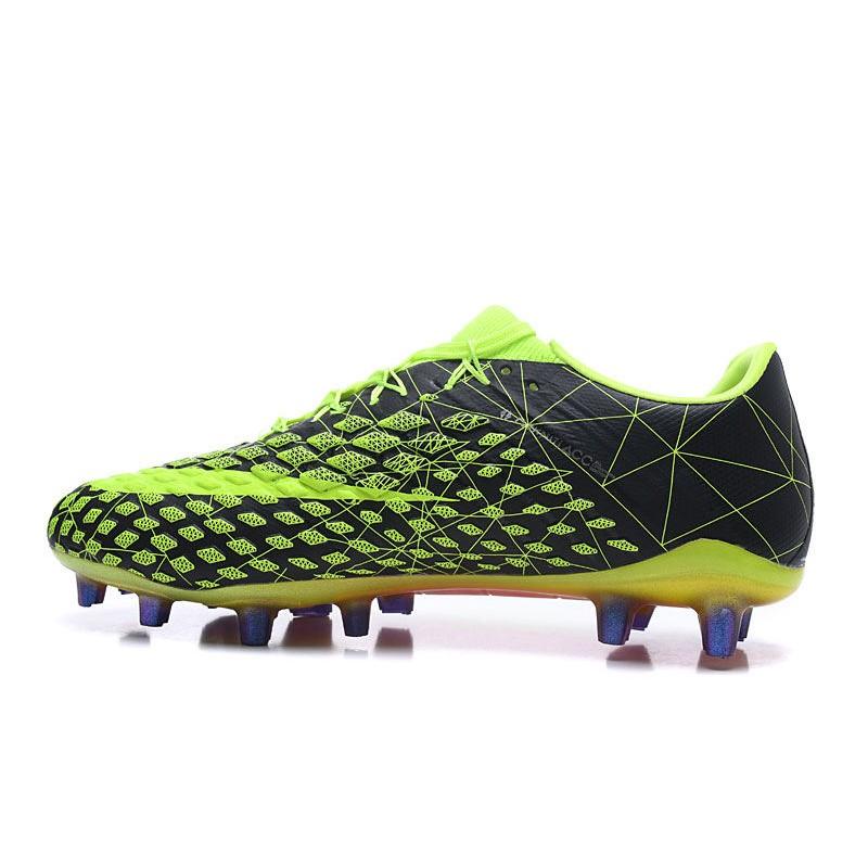 Cañón Trasplante Surichinmoi  Nike Nuevas Tacos de Futbol Hypervenom Phantom 3 FG - Verde Negro