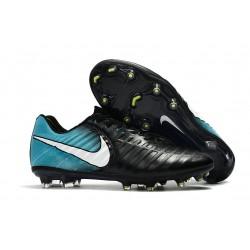 Nike Zapatillas de Futbol Tiempo Legend 7 FG ACC Negro Azul