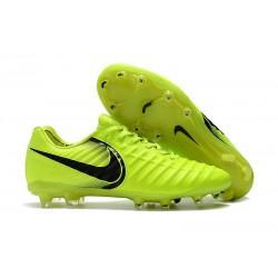 Nike Tiempo Legend VII FG Botas de Fútbol Con Tacos - Verde Negro