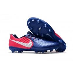 Nike Nuevas Tiempo Legend 7 FG ACC Zapatillas - Azul Rosa