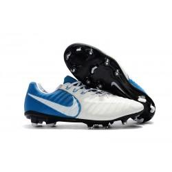 Nike Nuevas Tiempo Legend 7 FG ACC Zapatillas - Blanco Azul