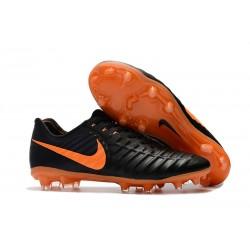 Nike Nuevas Tiempo Legend 7 FG ACC Zapatillas - Negro Naranja
