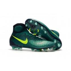 Nike Magista Obra 2 FG ACC Zapatos de Futbol - Verde