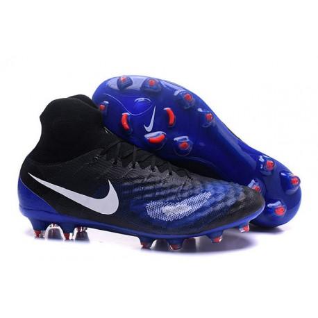 4ca6a83099b11 Nike Magista Obra 2 FG ACC Zapatos de Futbol - Negro Azul