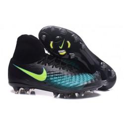 Nike Magista Obra II FG Zapatillas De Futbol - Negro Azul
