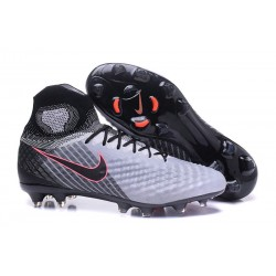 Nike Magista Obra II FG Zapatillas De Futbol - Gris Negro