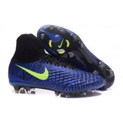 Nike Magista Obra II FG Zapatillas De Futbol - Azul Amarillo
