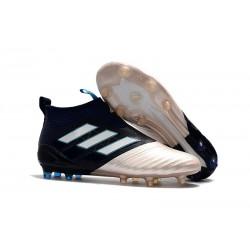 adidas Ace 17+ Purecontrol FG Nuevos Zapatillas de Fútbol - Oro Negro