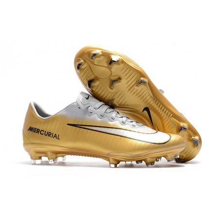 Nike Mercurial Oro Fg Zapatos Nuevos De Vapor 11 Futbol Blanco 4jc5ARL3q