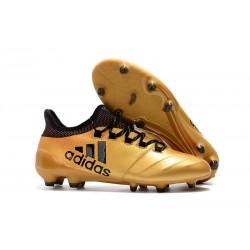 Botas de Futbol Adidas X 17.1 FG - Oro Negro
