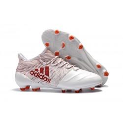Botas de Futbol Adidas X 17.1 FG - Blanco Rosso