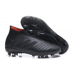 Zapatillas de Futbol Adidas Predator 18+ FG Negro