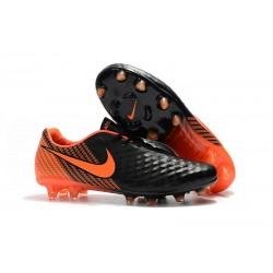 Bota de Futbol Nike Magista Opus 2 FG ACC - Negro Naranja