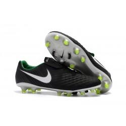 Bota de Futbol Nike Magista Opus 2 FG ACC - Negro Blanco Verde