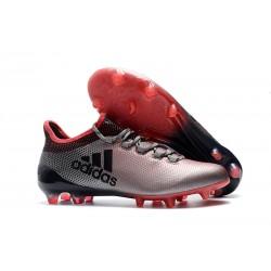 Adidas X 17.1 FG Nuevas Zapatos de Futbol Rosa Gris