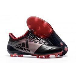 Adidas X 17.1 FG Nuevas Zapatos de Futbol Rosa Negro