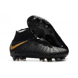 Nike Hypervenom Phantom 3 FG ACC Zapatos de Futbol - Negro Oro