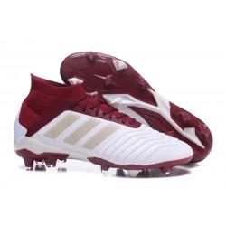 adidas Predator 18.1 Fg Botas de Futbol - Blanco Rojo