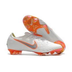 Nike Mercurial Vapor XII FG Copa Mundial 2018 Botas - Blanco Naranja