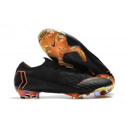 Nike Mercurial Vapor XII FG Copa Mundial 2018 Botas - Negro Naranja