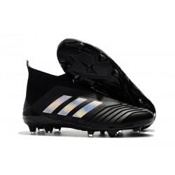 Adidas Tacos de Futbol Predator 18+ FG - Negro Metal
