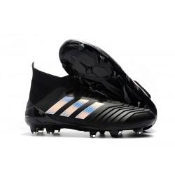 adidas 2018 Zapatos de fútbol Predator 18.1 Fg - Negro Metal