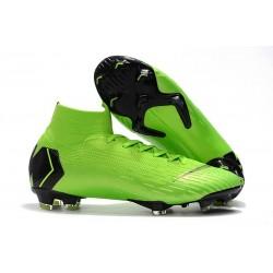 Nike Mercurial Superfly 6 Elite DF FG Zapatos de Fútbol - Verde Nergo
