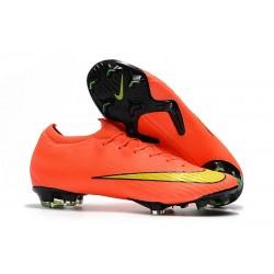 Nike Tacos de Futbol Mercurial Vapor XII Elite FG - Naranja Amarillo